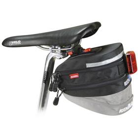 KlickFix Micro 200 Seat Post Bag Expandable, black